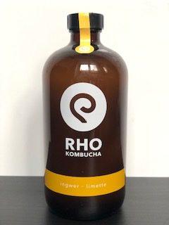 RHO Kombucha Ingwer-Limette