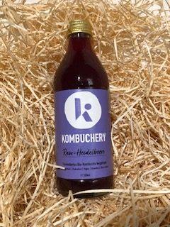 Raw-Heidelbeere Kombucha von Kombuchery