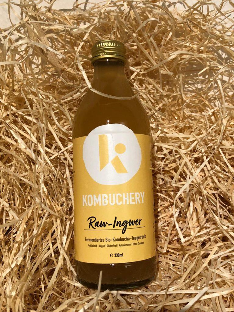 Kombuchery Raw-Ingwer Kombucha